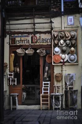 Cesteria Velasco - The Basket Shop Art Print by Mary Machare