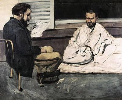 Cezanne, Paul 1839-1906. Paul Alexis Art Print