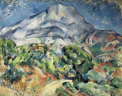 Impressionist Photograph - Cezanne, Paul 1839-1906. The Mountain by Everett