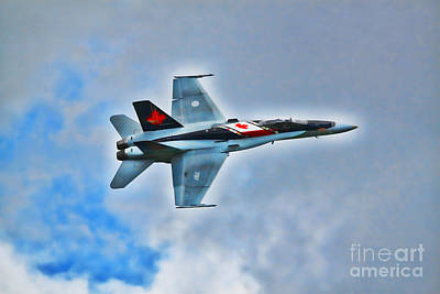 Photograph - Cf18 Hornet  by Cathy Beharriell