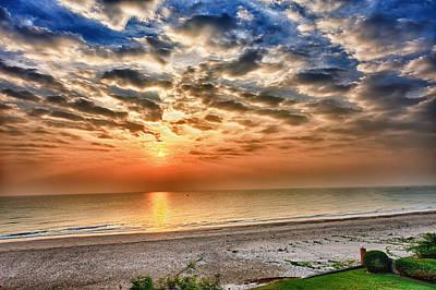 Cha-am Photograph - Cha-am Sunrise by Thomas von Aesch