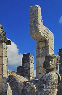 Photograph - Chacmool Chichen Itza by Craig Lovell