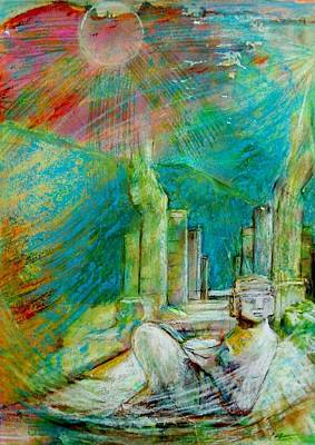 Painting - Chacmool De Chichen Itza by Terri Ana Stokes