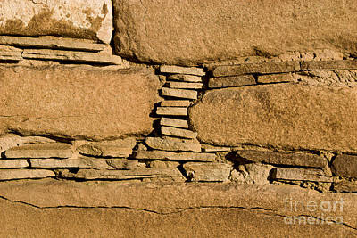 Chaco Bricks Art Print by Steven Ralser