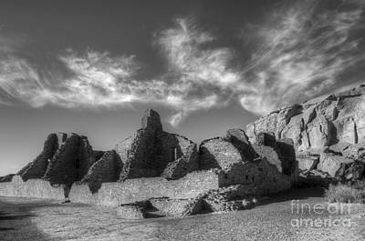 Photograph - Chaco Canyon Pueblo Bonito by Bob Christopher