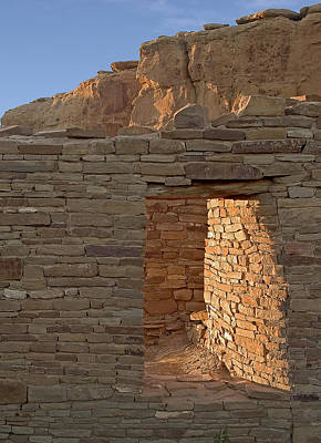 Photograph - Chaco Canyon Window by Steven Ralser