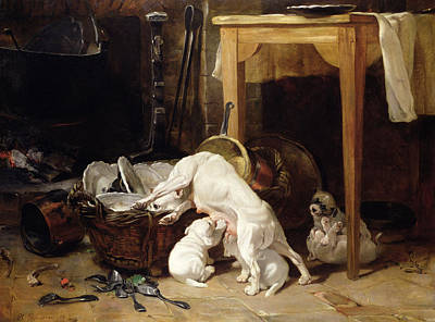 Remains Painting - Chacun Pour Soi, 1864 by Philippe Rousseau