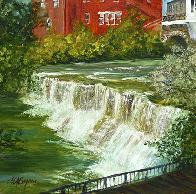 Chagrin Falls Art Print