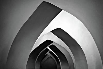 Arch Wall Art - Photograph - Chahar Derakht by Mohammadreza Momeni