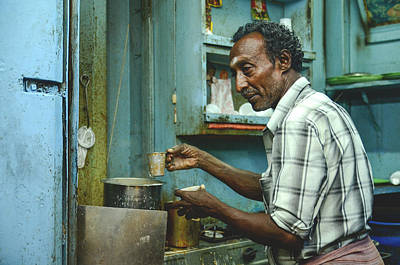 Photograph - Chai In Madurai  by Valerie Rosen
