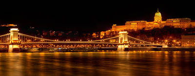 Photograph - Chain Bridge- Budapest by John Galbo
