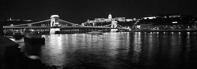 Chain Bridge-budapest Art Print