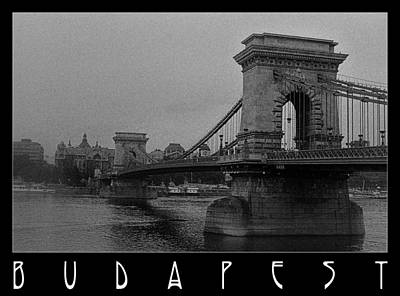 Photograph - Chain Bridge Budapest by Weston Westmoreland