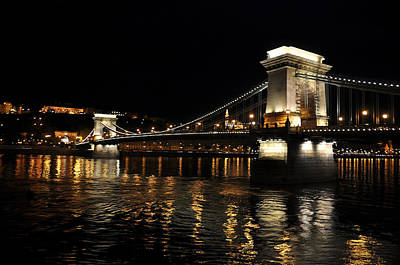 Photograph - Chain Bridge-danube River by Allan Rothman