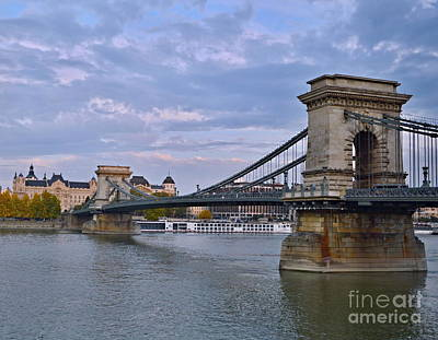 Photograph - Chain Bridge by Steven Liveoak