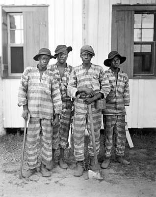 Photograph - Chain Gang, C1905 by Granger