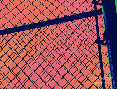 Photograph - Chain Link by A K Dayton