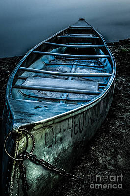 Photograph - Chained At The Waters Edge by Michael Arend