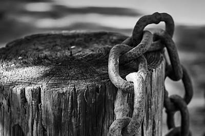 Photograph - Chained... by Eduard Moldoveanu