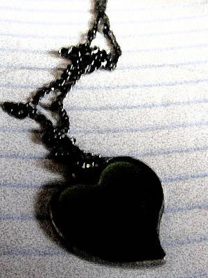 Chained Heart Art Print