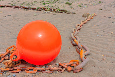Photograph - Chained Orange by Semmick Photo