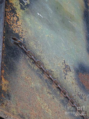 Photograph - Chained Rust by Lyric Lucas