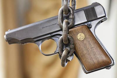 Photograph - Gun Art - Chained To Our Guns By Jo Ann Tomaselli by Jo Ann Tomaselli