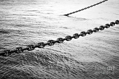 Photograph - Chains by Dean Harte