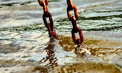 Photograph - Chains by Debra Forand