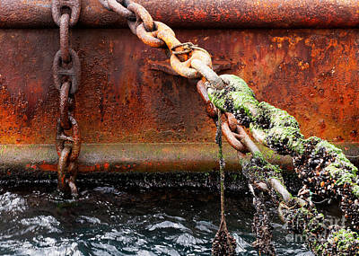 Photograph - Chains by Rick Piper Photography