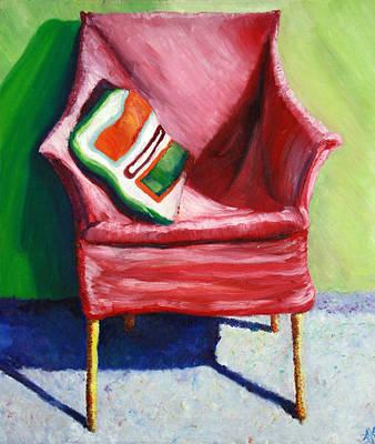Chair Art Print by Aletha Keogh