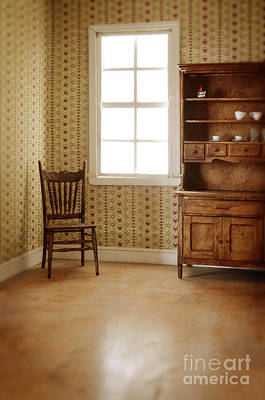 Photograph - Chair And Cupboard by Jill Battaglia