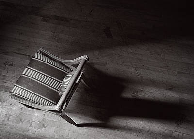 Photograph - Chair From Above by Rick Mosher