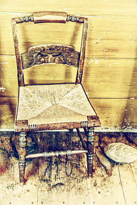 Photograph - Chair by Karol Livote