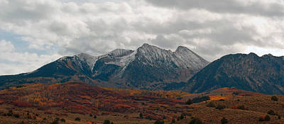 Photograph - Chair Mountain  by Eric Rundle