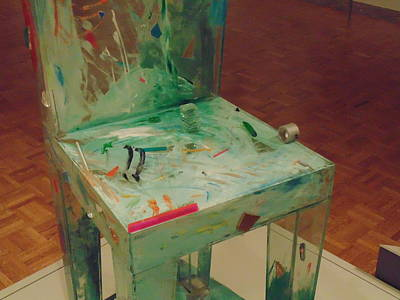 Outsider Art Photograph - Chair Of Art by Dotti Hannum