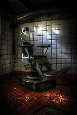 Creepy Digital Art - Chair Of Horror by Nathan Wright