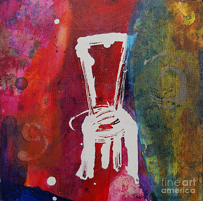 Painting - Chair by Robin Maria Pedrero