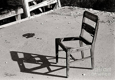 Photograph - Chair by Tom Brickhouse