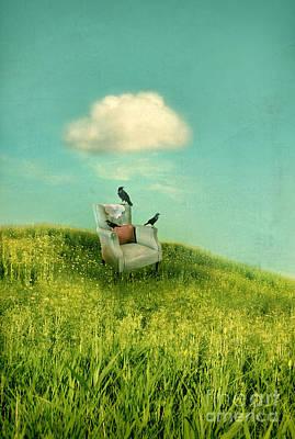 Photograph - Chair Under A Cloud by Jill Battaglia