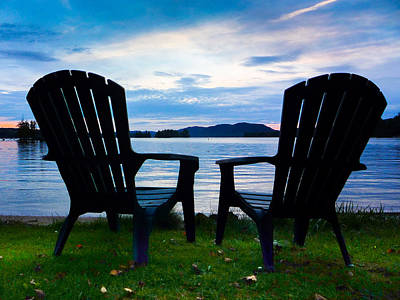 Photograph - Chairs Of Relaxation by Dave Hall