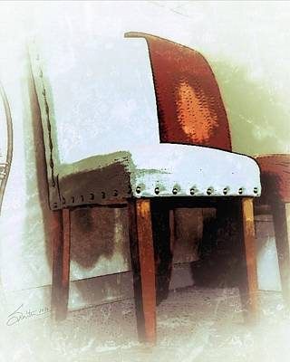 Chairs Art Print by Robert Smith
