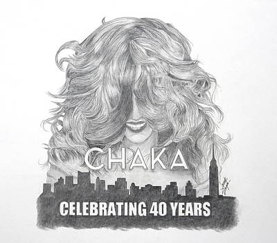 Painting - Chaka 40 Years by Joette Snyder