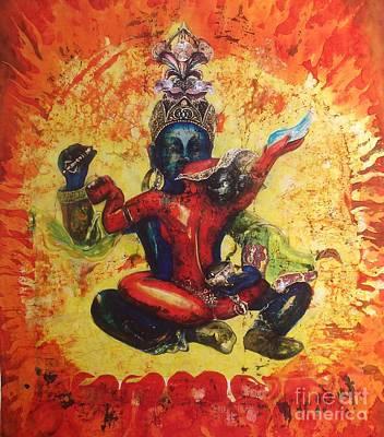 Chakrasmvara And Vajravarahi Original