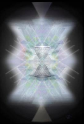 Digital Art - Chalice Emerging by Christopher Pringer