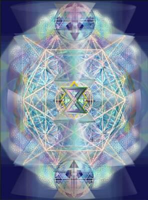 Digital Art - Chalicells Electric Sparkling Vortices Of Light II by Christopher Pringer