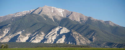 Photograph - Chalk Cliffs Of Mt. Princeton by Aaron Spong