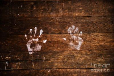 Photograph - Chalk Hands by Paul Mashburn