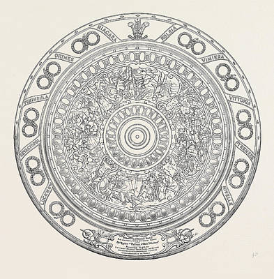 Challenge Shield Of The 82nd Regiment Print by English School