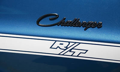 Photograph - Challenger R/t by Morris  McClung